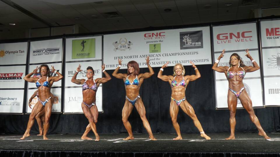 Team DreamQuest Triple Pro Card Performance at the 2015 IFBB North Americans!